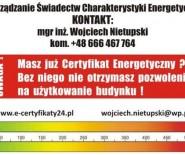 Wojciech Nietupski Sporządzanie Świadectw Charakterystyki En