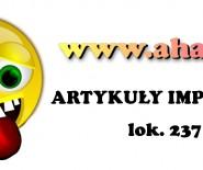 www.ahaha.pl - Artykuły imprezowe, gadżety