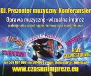 www.czasnaimpreze DJ, Prowadzenie wesel,18,studniówe,itp