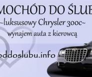 Wynajem auta do Ślubu - luksusowa limuzyna Chrysler 300C