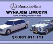 Wynajem Limuzyn Mercedes-Benz
