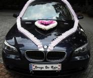 WYNAJEM SAMOCHÓD DO ŚLUBU BMW E60 KREMOWE SKÓRY OKAZJA