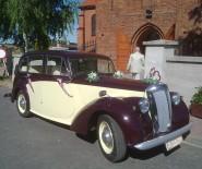 Zabytkowy Daimler DB18 do ślubu