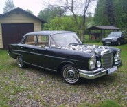 Zabytkowy Mercedes-Benz retro do ślubu!