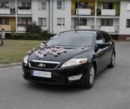 Zawioze do ślubu -limuzyna Ford Mondeo Transfery na Lotniska