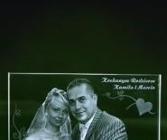 Zdjęcia ślubne w szkle w 3D