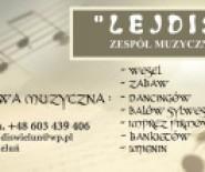 """Zespół muzyczny """"Lejdis"""""""