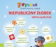 Żłobek 7 Życzeń w Brzesku zaprasza dzieci do lat 3