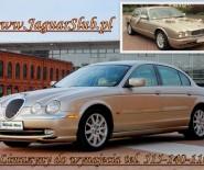 Złoty Jaguar XJ, S-Type do Ślubu Łódź Auto do Śłubu Limuzyna