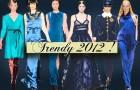 Błękit - Najważniejsze trendy 2012