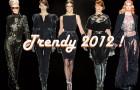 Czerń koronki - Najważniejsze trendy 2012