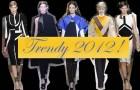 Geometryczne wzory - Trendy 2012