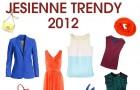 Najmodniejsze kolory - jesień 2012!