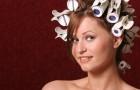 Objętość za pomocą termoloków - prosta i elegancka fryzura