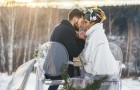 Ślub zimą? Te zdjęcia pokazują, że warto!