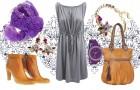 Stylizacje z sukienką w roli głównej