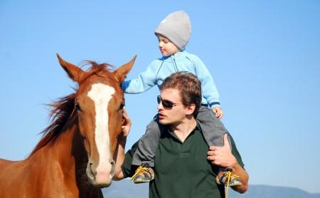 Hipoterapia - przyjaźń z koniem?