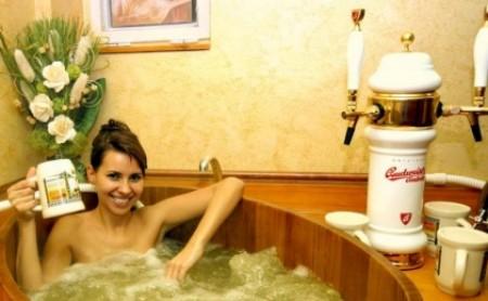 Kąpiel w piwie