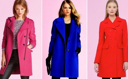 Kolorowe płaszcze na jesień!