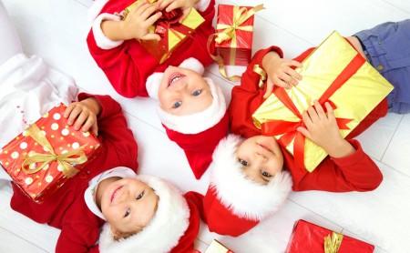 Mikołajkowo-gwiazdkowe prezenty dla dzieci