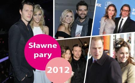 Najpopularniejsze w 2012 roku pary - top 10!