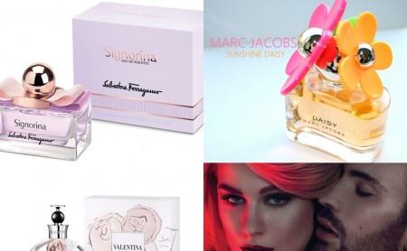 Pięć nowych zapachów na wiosnę 2013
