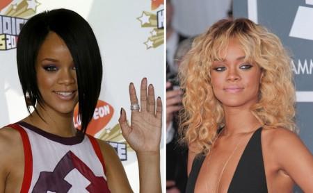 Rihanna -  sceniczny kameleon