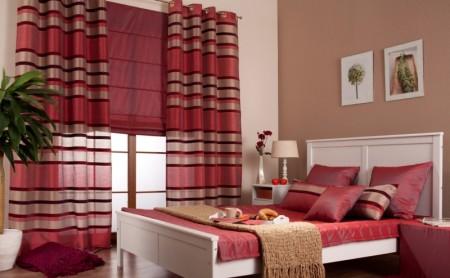 Sypialnia w kolorach jesieni