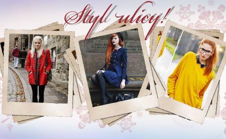 Uczennica - Stylizacje z mody ulicznej