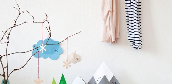 10 pomysłów na kalendarz adwentowy - DIY