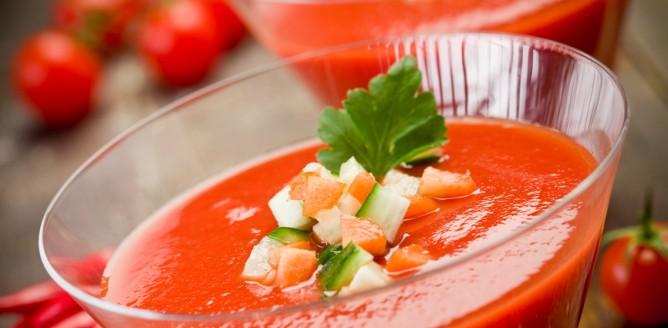 Błyskawiczne gazpacho