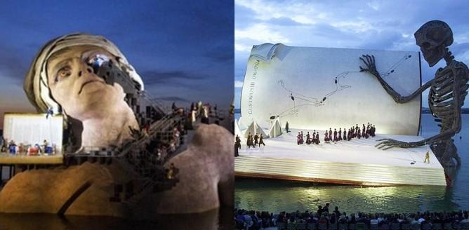 Bregenzer Festspiele - dzieła sztuki nad Jeziorem Bodeńskim