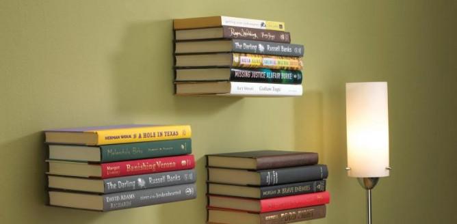 Lewitujące książki!