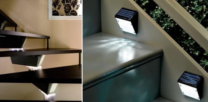 Oświetlenie schodów wewnętrznych