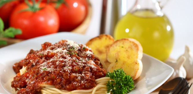 Proteinowe spaghetti