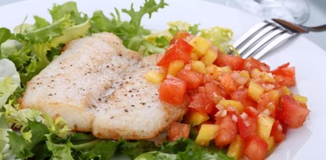 Ryba w warzywach