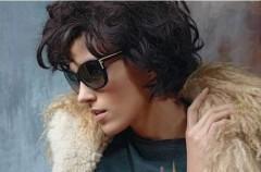 Anja Rubik jako brunetka w kampanii Fendi na jesień/zimę 2011-2012