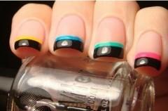 French manicure inaczej