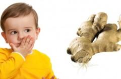 Imbir w leczeniu choroby lokomocyjnej u dzieci