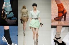 Jak nosić skarpetki do pantofli?