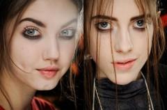 Jesienny makijaż grunge