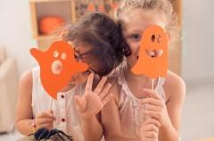 Maska dla dzieci na Halloween!