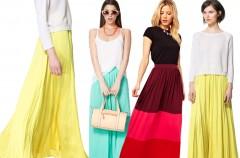 Maxi spódnica nadal modna!