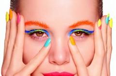 Neonowy, fosforyzujący manicure - must have na lato