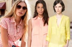 Nowe kolekcje - koszule na wiosnę i lato 2013
