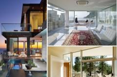 Nowoczesne domy ze szkła