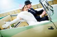 Ślub w stylu retro