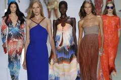 Sukienka maksi - dla jakiej sylwetki?