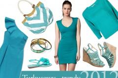 Turkusowy - trendy wiosna/lato 2012