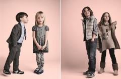 Urocze dzieci w kampanii Armani Junior